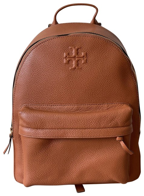 Item - Thea Pebble In Classic Tan Leather Backpack