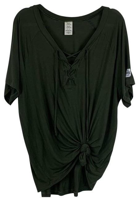 Item - Green Army Lace-up M Tee Shirt Size 8 (M)