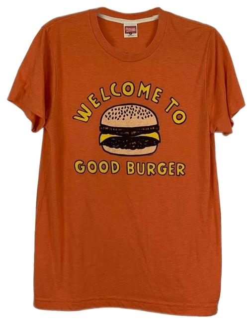 Item - Orange Welcome To Good Burger Graphic Small Tee Shirt Size 4 (S)