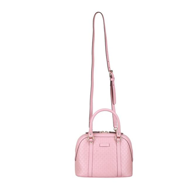 Item - Dome Microguccissima Soft Pink Leather Cross Body Bag