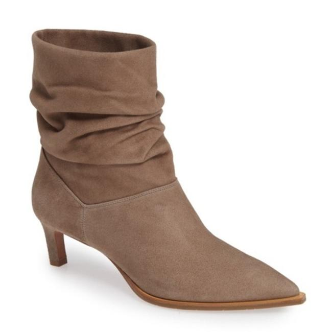Item - Tan Maddy Slouchy Suede Boots/Booties Size US 8.5 Regular (M, B)