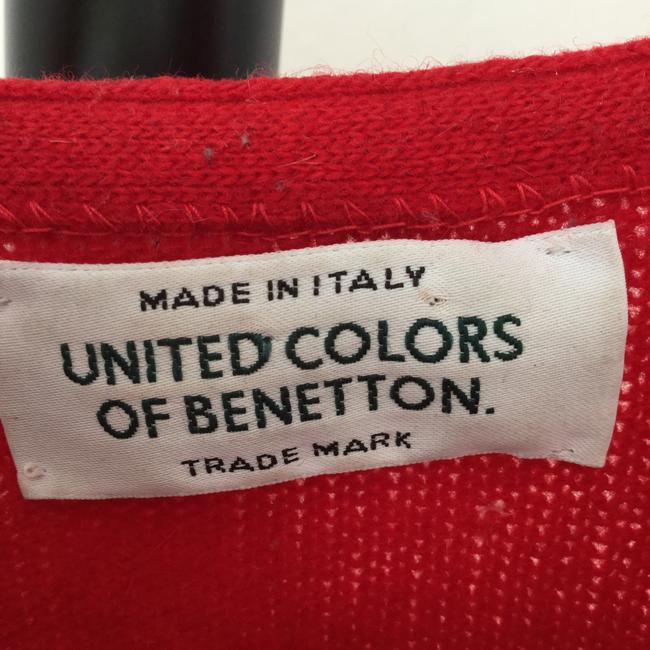 United Colors of Benetton - Italy Italian Angora Lambswool Sexy Holiday Party Date Night Soft Warm Pretty Attracts Males Amour Sweater