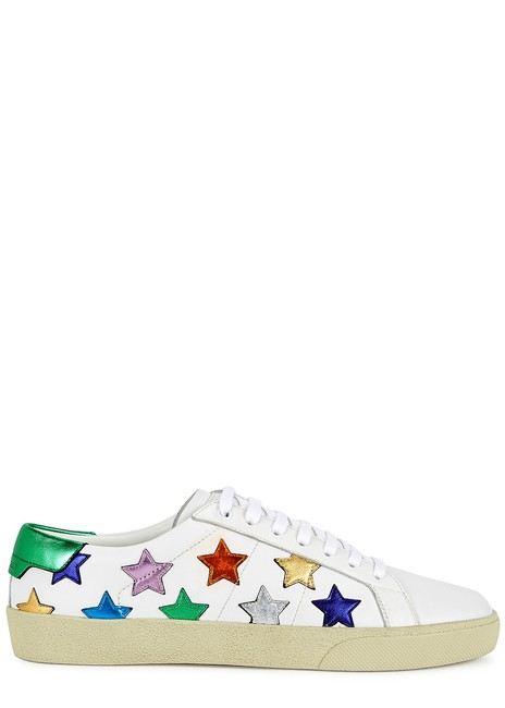 Item - White Court Classic Sl/06 Low-top Sneakers Size EU 35.5 (Approx. US 5.5) Regular (M, B)
