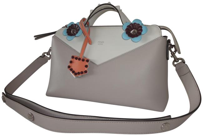 Item - Boston Calfskin Flowerland Studded Small By The Way Multicolor Leather Shoulder Bag