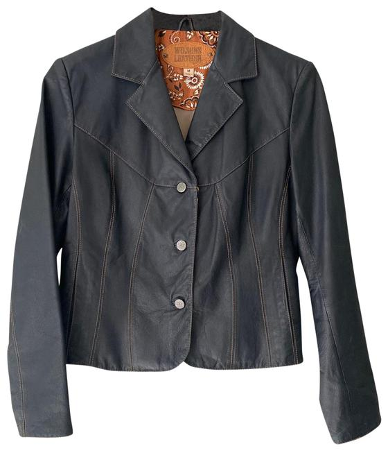 Item - Black Women's Fitted Buttons Jacket Size 8 (M)