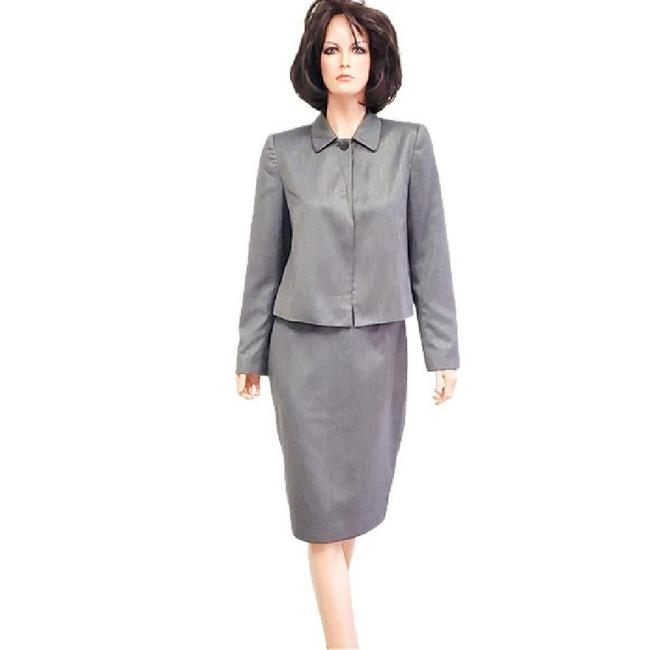 Item - Taupe Tweed Skirt Suit Size 6 (S)