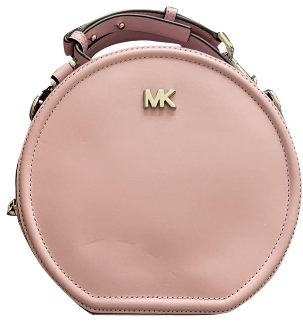 Item - Messenger Canteen Pale Lilac Leather Cross Body Bag