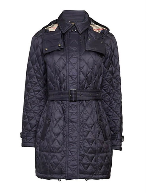 Item - Ink Finsbridge Quilted Hooded Jacket Size 8 (M)