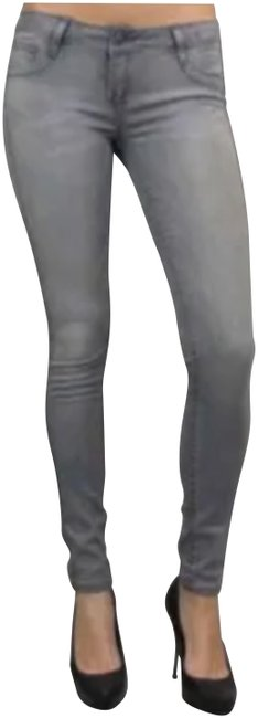 Item - Gray/Purple Coated Reversible Jeggings Size 27 (4, S)
