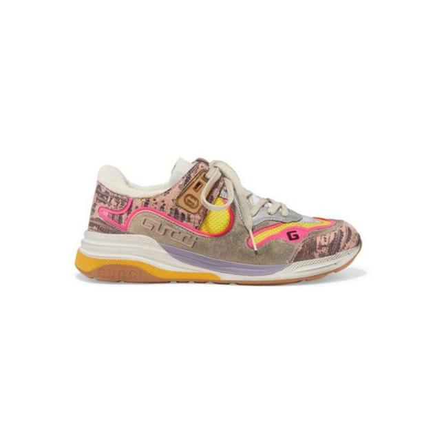 Item - Pink Grey New Ultrapace Leather Mesh Trainers Sneakers Size EU 37 (Approx. US 7) Regular (M, B)