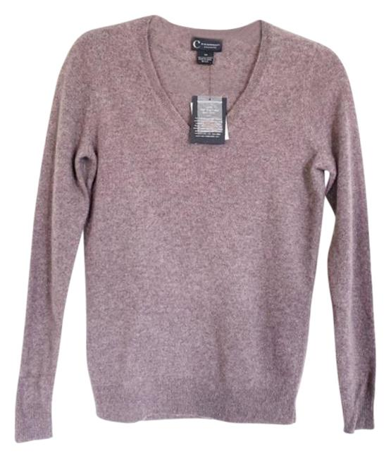 Item - C By Vneck Cashmere Gray Brown Sweater