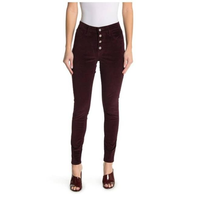 Item - Red High Rise Corduroy Skinny Jeans Size 25 (2, XS)