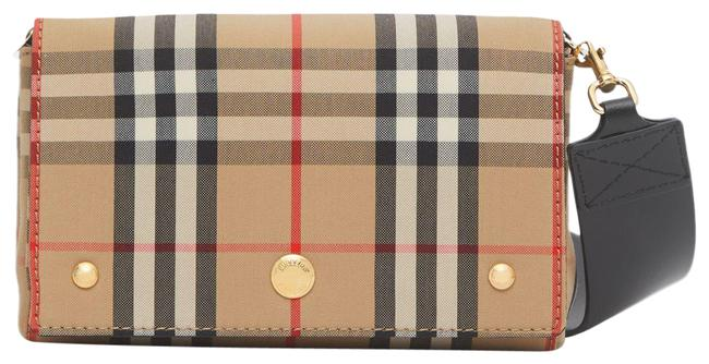 Item - Small Vintage Check Beige Calfskin Leather Cross Body Bag