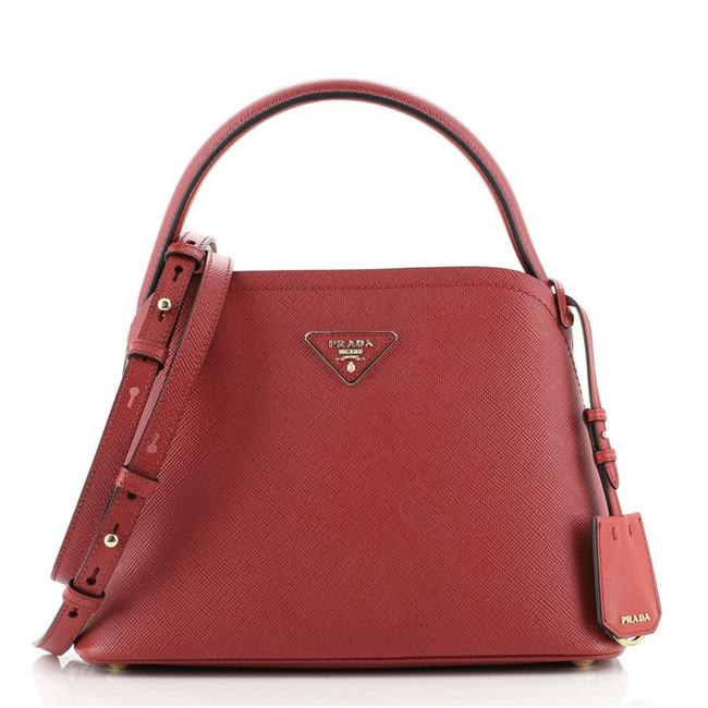 Item - Matinee Saffiano Small Red Leather Cross Body Bag