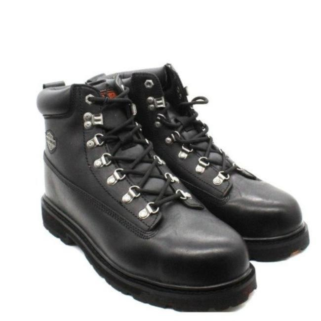 Item - Black Men's Drive Safety Toe Ankle Boots/Booties Size US 10 Regular (M, B)