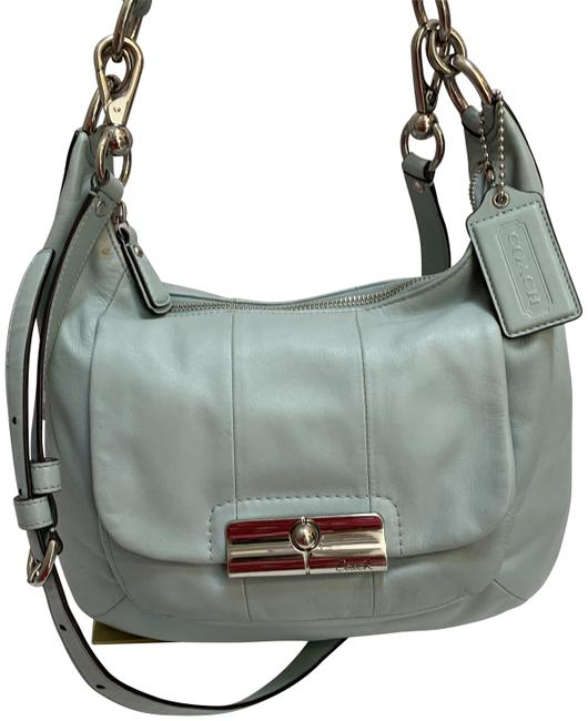 Item - Kristin North South Convertible Xbody #1 Light Blue Leather Hobo Bag