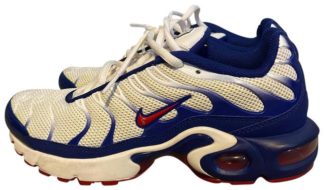 Item - Blue Red and White Air Max Plus Sneakers Size US 6 Regular (M, B)