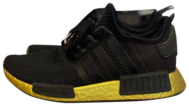 Item - Black and Gold Nmd Sneakers Size US 6.5 Regular (M, B)
