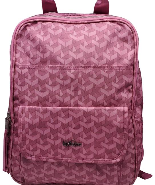 Item - Sandra The Commuter Collection Optic Pink Nylon Backpack