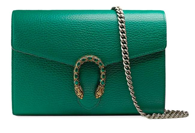 Item - Chain Wallet Crossbody Dionysus New Chain Tote Green Leather Shoulder Bag