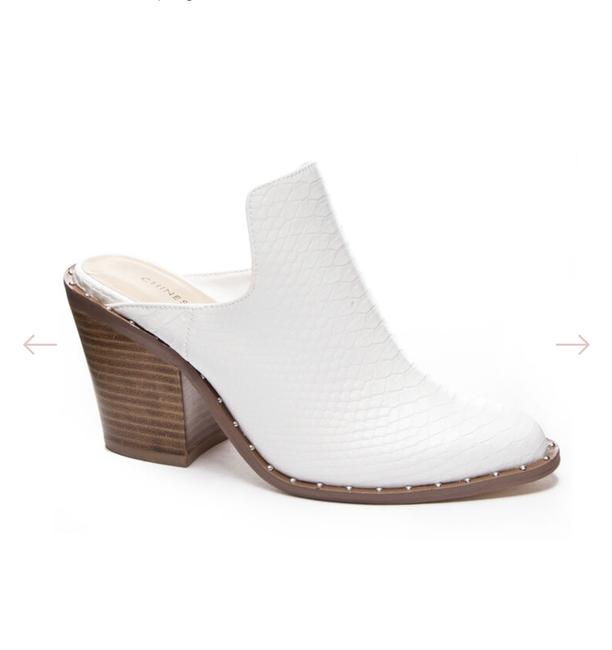 Item - White Springfield Mules Boots/Booties Size EU 37 (Approx. US 7) Regular (M, B)