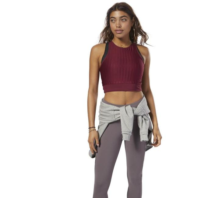 Item - Rustic Wine Women's Workout Activewear Top Size 8 (M)