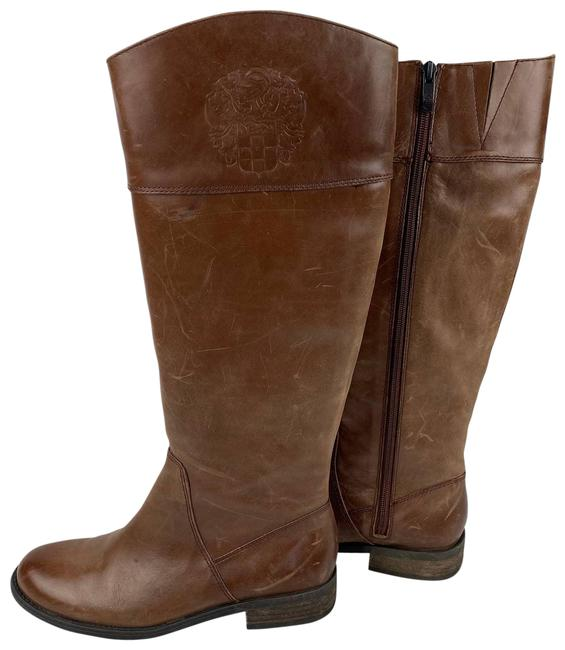 Item - Brown Kellini Riding Leather New Boots/Booties Size US 7.5 Regular (M, B)