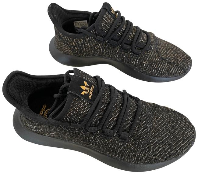 Item - Gold and Black Golden Sneakers Size US 4.5 Regular (M, B)
