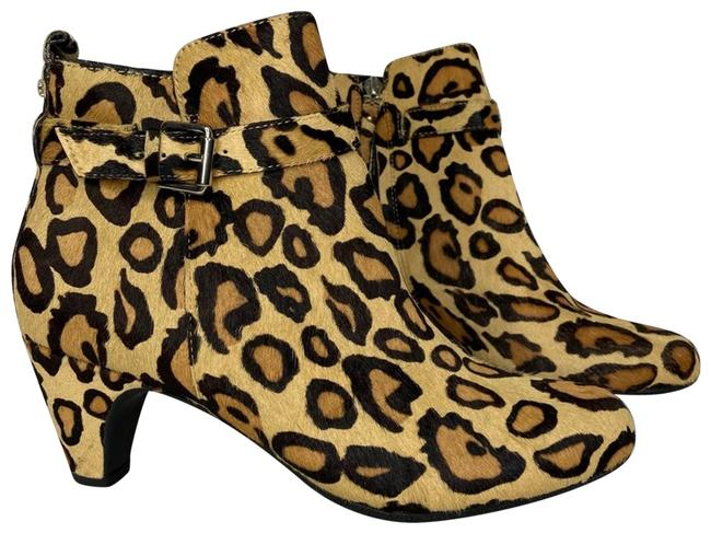 Item - Tan New Leopard Calf Hair Ankle Boots/Booties Size US 8 Regular (M, B)