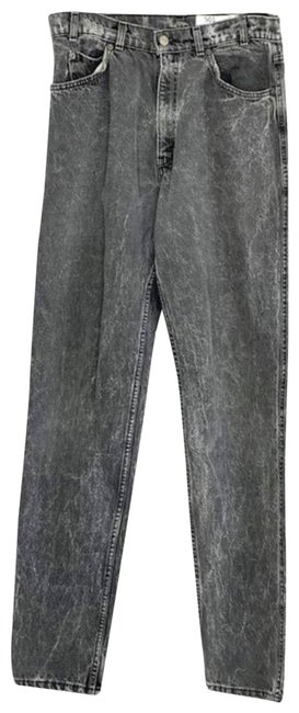 Item - Gray Vintage Washed High Waisted Skinny Jeans Size 27 (4, S)
