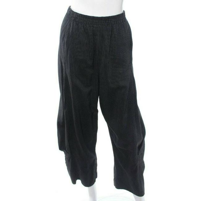 Item - Black Artsy Women's 1 Striped Loose Lagenlook Pants Size OS (one size)