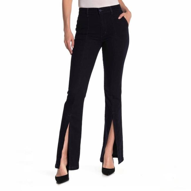 Item - Black High Waisted Slit New Boot Cut Jeans Size 27 (4, S)