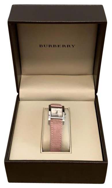 Item - Pink Square with Strap Watch