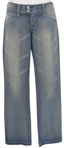 Paper Denim & Cloth Cotton Boot Cut Jeans-Light Wash