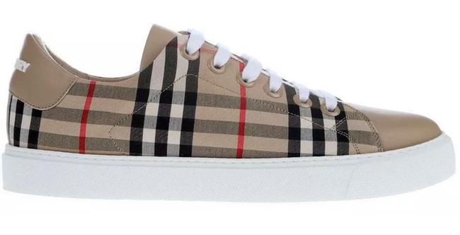 Item - Archive Beige New Ladies Vintage Check & Leather 40/10 Sneakers Size US 10 Regular (M, B)