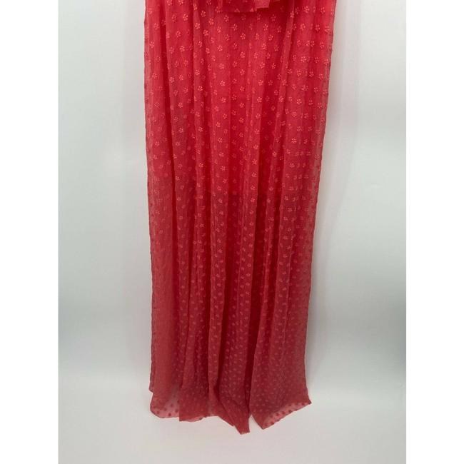 LIKELY Red Blaine Flamingo Embroidered Ruffle Off The Shoulder Short Casual Dress Size 4 (S) LIKELY Red Blaine Flamingo Embroidered Ruffle Off The Shoulder Short Casual Dress Size 4 (S) Image 3