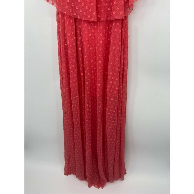 LIKELY Red Blaine Flamingo Embroidered Ruffle Off The Shoulder Short Casual Dress Size 4 (S) LIKELY Red Blaine Flamingo Embroidered Ruffle Off The Shoulder Short Casual Dress Size 4 (S) Image 6