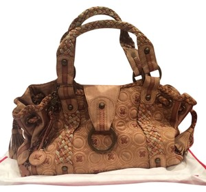 Isabella Fiore Bohemian Leather Shoulder Bag