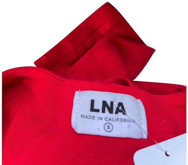 Item - Red Cherry Henley Pull Over Tee Shirt Size 6 (S)
