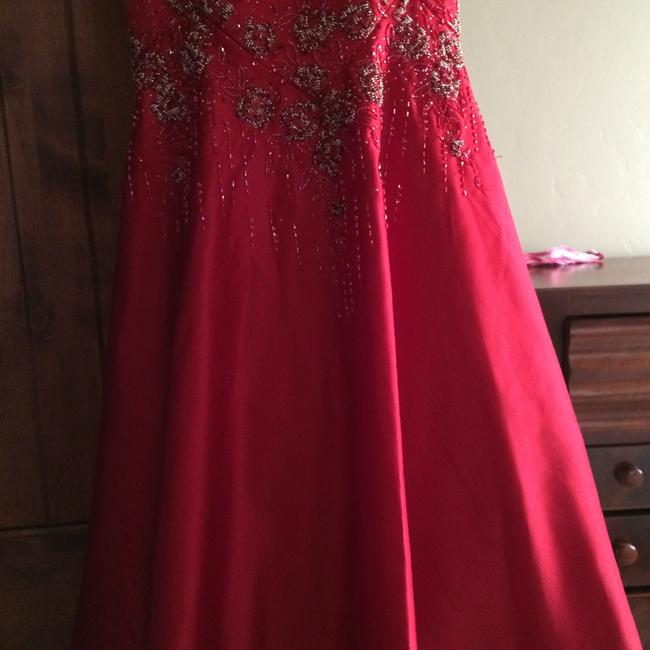 Jovani Beaded Sweetheart Dress