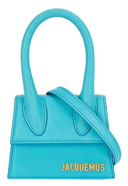 Item - Le Grand Chiquito Turquoise Leather Tote
