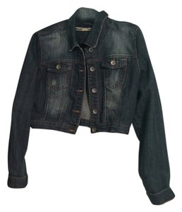 Charlotte Russe Denim Cool Style Womens Jean Jacket