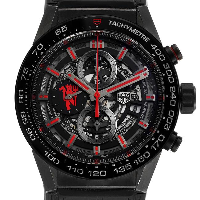 Item - Skeleton Box Carrera Dial Manchester United Le Car2a1j Watch