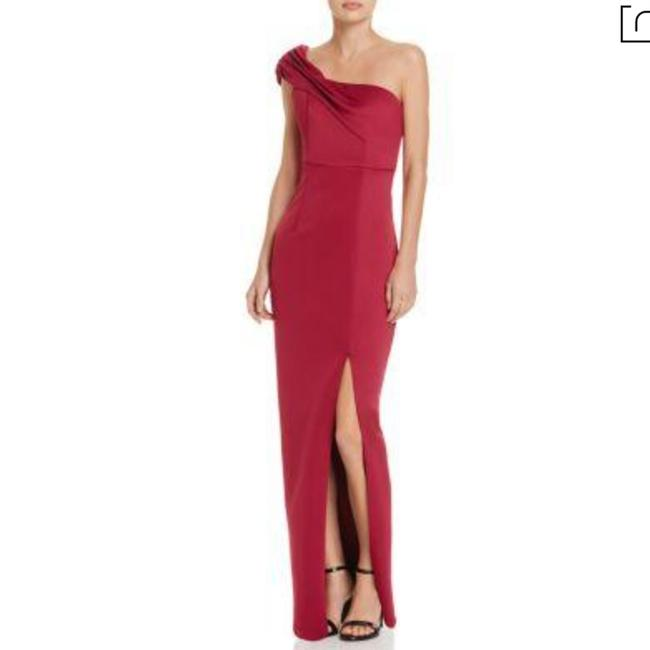 Item - Red XS Florence One-shoulder Evening Gown Long Formal Dress Size 2 (XS)