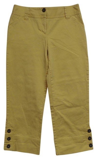 Preload https://item4.tradesy.com/images/charter-club-yellow-capris-2948668-0-0.jpg?width=400&height=650