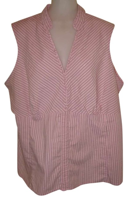 Preload https://item2.tradesy.com/images/cato-pink-button-down-top-size-22-plus-2x-294871-0-0.jpg?width=400&height=650