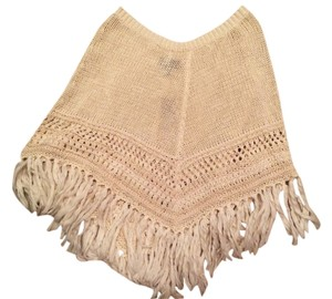 American Eagle Outfitters Knit Tassel Cape