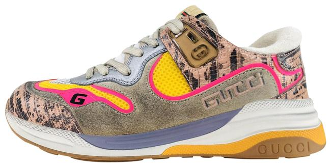 Item - Pink Ultrapace Ace Snake Leather Distressed Suede 592348 Sneakers Size EU 37 (Approx. US 7) Regular (M, B)