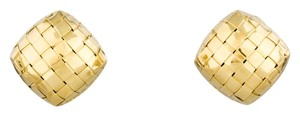 Roberto Coin Roberto Coin 18kt yellow gold clip on earrings