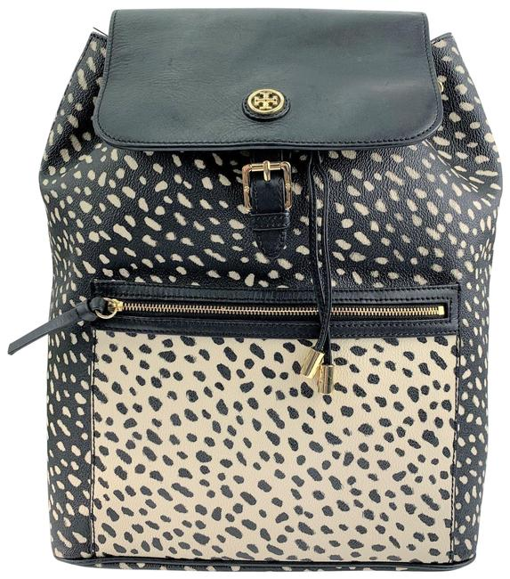 Item - Kerrington Good Condition The Only Flaws I Have Found At A Small Portion Of Miss Cream Black Faux Leather Backpack